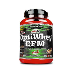 Amix OptiWhey CFM Instant Protein Příchuť: Double Dutch Chocolate, Balení(g): 30g