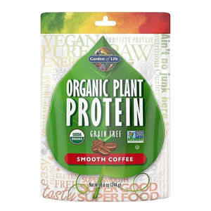 Garden of Life Organic Plant Protein - Coffee 244g.