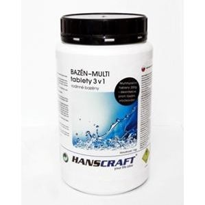 HANSCRAFT BAZÉN - MULTI tablety 3v1 - 1 kg