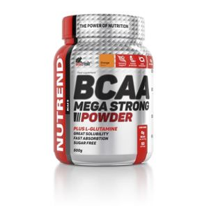 NUTREND BCAA MEGA STRONG 500 g 500g Ananas