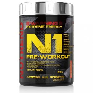 NUTREND N1 PRE-WORKOUT 510 g 10x 17g Grep
